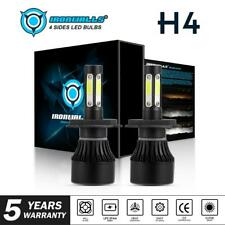 H4 9003 HB2 360000LM CREE LED Bulbs HID Hi/Low Beam Motorcycle Headlight 4-sides