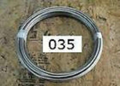 """50 FT 1//4/"""" TUBING .250 X .035 316L STAINLESS STEEL TUBE"""