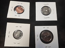 2003 OLD EFFIGY Canada Set of 4 COINS 1 cent, 5 cent, 10 cent, 25 cent MAGNETIC