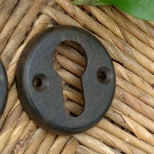 Rosette Türrosette runde Schlüsselrosette für Tür aus Eisen wie Antik