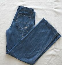 Anthropologie Pilcro and the Letterpress Women's Carpenter Jeans Sz 8 Light Wash
