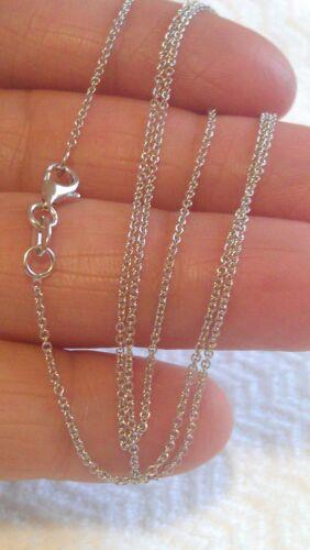 environ 45.72 cm 14K Lien Gold Rolo Design Chaîne//collier 18 In 1.6 G