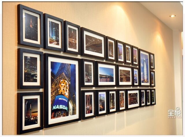 Wall Hanging Wood Gallery Collage
