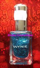 1 Vernis à Ongles WYNIE Collection PAILLETTE Pailleté 811 Bleu