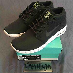 244040aff00eb Nike SB Stefan Janoski Max Mid Black Black Dark Grey Size 8.5 Men s ...