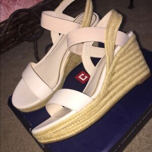 3c19809e002f Chaps Women s Wensley espadrilles sandals jute wedge ivory natural ...