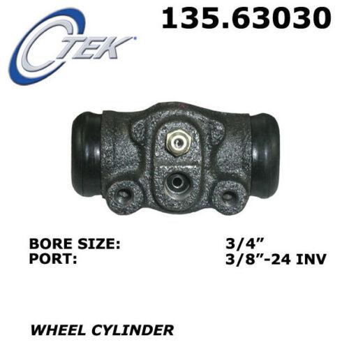 Drum Brake Wheel Cylinder-C-TEK Standard Wheel Cylinder Rear Centric 135.63030