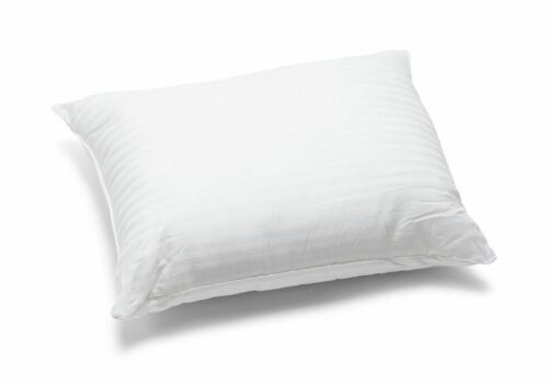 Stripe Pillows Luxury Striped Hotel Quality Pillows Bounce Back /& Extra Filled