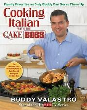 NEW Cooking Italian with the Cake Boss Family Favorites BUddy Valastro cookbook