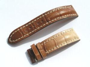 22mm-Breitling-Band-737P-22-20-Croco-braun-brown-Strap-fuer-Dornschliesse-051-22