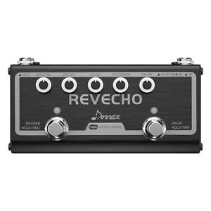 Donner-Revecho-Guitar-Effect-Pedal-Delay-and-Reverb-2-Modes-Aluminum-Alloy