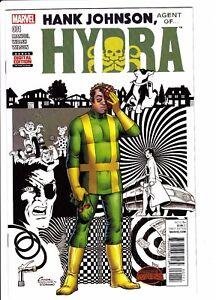 Hank-Johnson-Agent-of-Hydra-1-One-Shot-1st-Print-NM-Marvel-2015