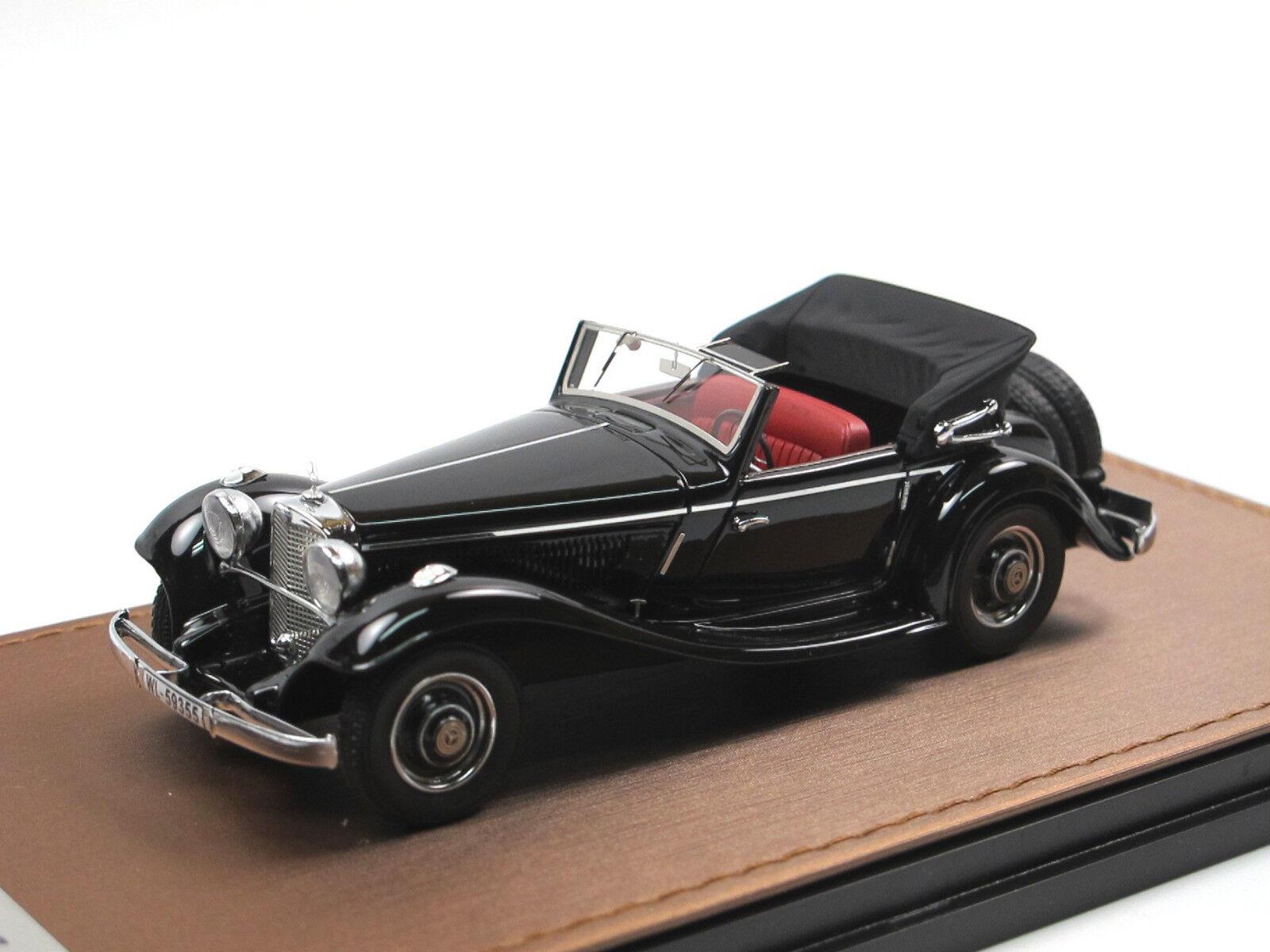 Bma 1936 mercedes - benz 290 cabriolet ein w (18) unsere schwarz - 1   43 limitiert 299
