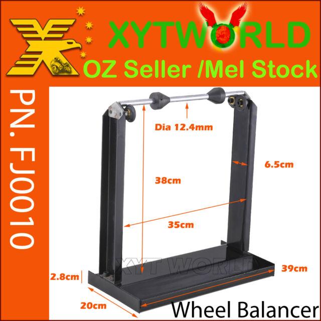 FJ0010 Motorcycle wheel Balancer Motor bike Static Balancing Shop Bench Stand