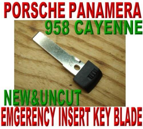 EMERGENCY KEY BLADE FOR PANAMERA CAYENNE 958 SMART KEYLESS ENRTY REMOTE PROX FOB