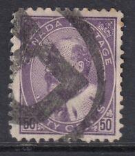 Canadá: 1908 Ed VII 50c Profundo Violeta SG 187 Usado