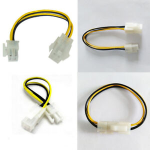 10Pcs-ATX-Male-to-4Pin-Female-PC-CPU-Power-Supply-Extension-Cable-Cord-Adapter