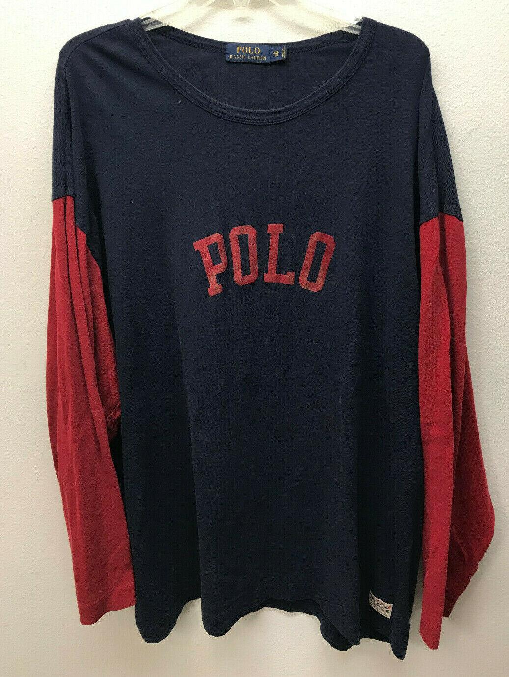 Lot of 2 Polo Ralph Lauren RL Mens Logo Polo Shirt Size 3XB