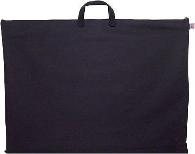 TRAN 24x36 Inch Black Nylon Portfolio Light Weight Student Art Case USA Made