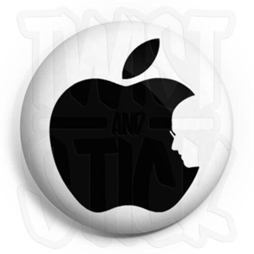 25mm Badges Fridge Magnet Option Button Badge Apple Mac Steve Jobs RIP