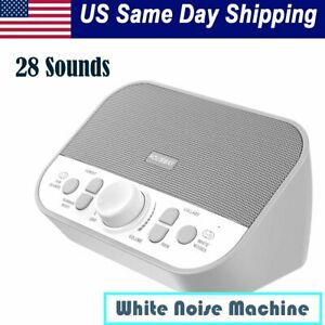 Sound Spa Therapy Machine 28 Sounds White Pink Noise Baby