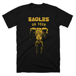 Eagles-On-Tour-Classic-Rock-Band-Men-Printed-T-shirt-Size-S-5XL