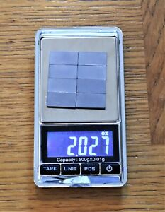 2oz-Tungsten-pinewood-weights-8-Stick-on-Faster-Cheaper-Easier-than-cylinders