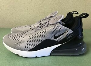 Nike Air Max 270 Light Grey Purple Black Women S Sz 12 Mens Sz