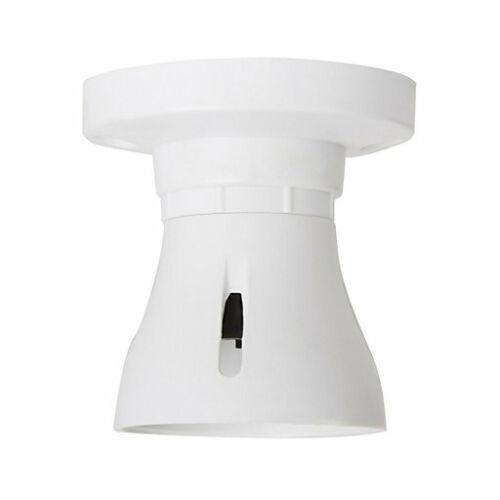 Baïonnette Latte Plafonnier /_ Titulaire Bc B22 Ampoule Douille Lampe Raccord Blanc