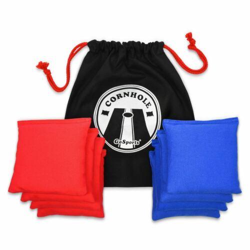 "GoSports Premium All-Weather Duck Cloth Regulation Size 6/""x6/"" Cornhole Bean Bags"