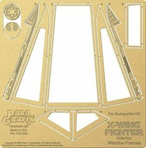X-Wing-Canopy-Frames-for-DeAgostini-Kit-1-18-scale-PGX229