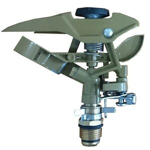 Details about Holman METAL IMPACT SPRINKLER HEAD SH3110C 15mm Adjustable  Spray Patterns