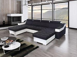 Ecksofa Esperanza U Mit Schlaffunktion Wohnlandschaft Eckcouch Couch