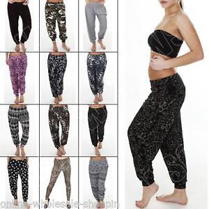 New-Womens-Harem-Full-Length-Ali-Baba-Hareem-Pants-Trousers-Plus-Size-S-M-L-XL-8