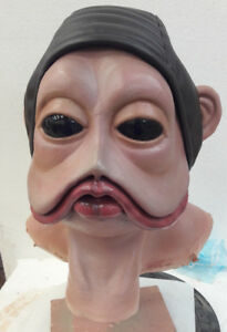Nien Nunb Sullustan Mask Cosplay Latex Mask Rubber Mask Ebay