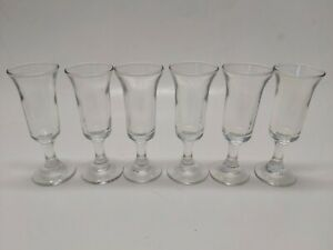 Vintage-Stemmed-Cordial-Shot-Shooter-Glasses-Set-of-6