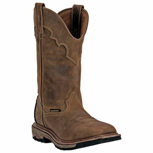 Dan Post Herren Blayde Western Cowboy Leder Stiefel Dp69402 Sattel Hellbraun