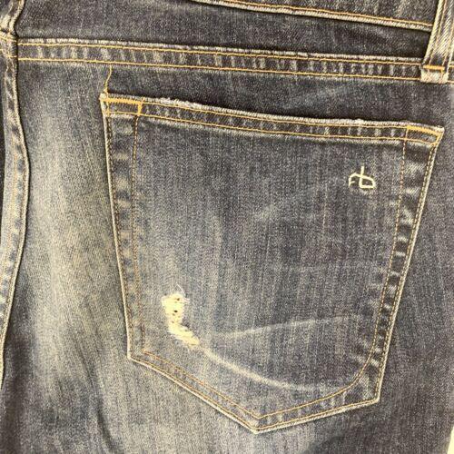 RAG&BONE Ripped Boyfriend Jeans Sz 28
