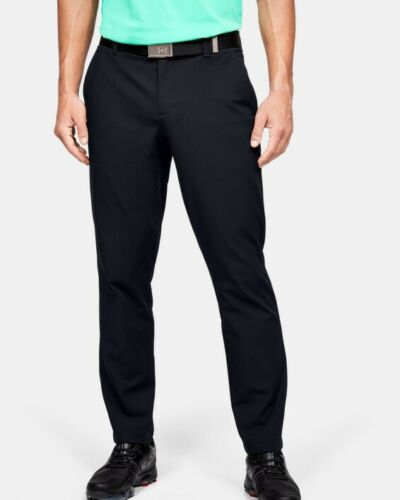 Under Armour Iso Chill Golf Pants (Black, 32x32)