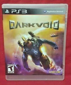Darkvoid Dark Void  - Sony PlayStation 3 PS3 Game COMPLETE w/ Manual Works