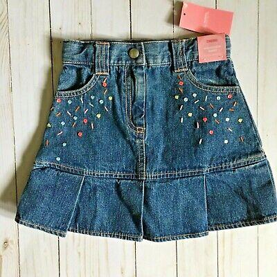 Gymboree Girls Big Pleated Sparkle Skirt