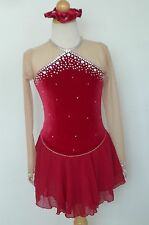 Kim Competition Ice Skating Roller Skating  Dress Child Size 10