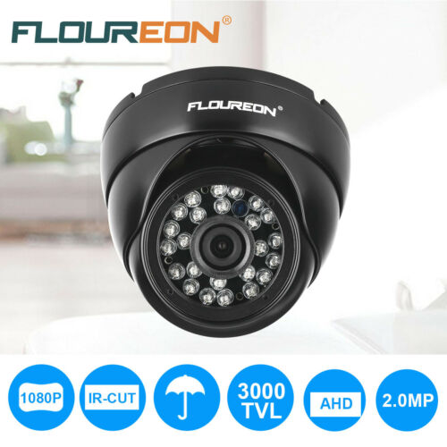 4X IP66 1080P 2MP 3000TVL CCTV Outdoor Security AHD Dome DVR Camera Night Vision