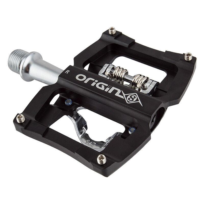 Origin-8 Dual Sport SPD Single Clipless Pedals Or8 Dual Spt Spd Sgl Clpls 9 16bk