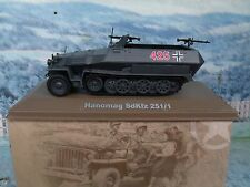 1/43 ATLAS  Hanomag SdKfz 251/1 Germany army