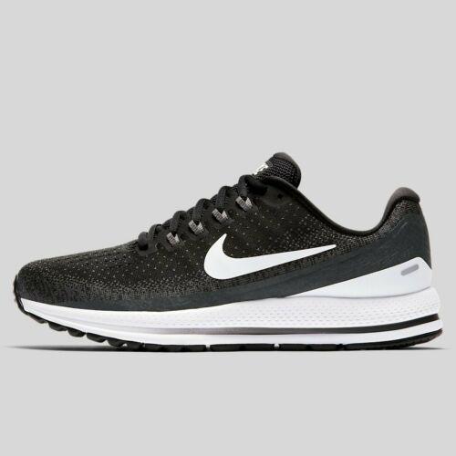 Nike Air Zoom Vomero 13 Men Shoes Black White 922908 001 Size 11.5 14 /& 15