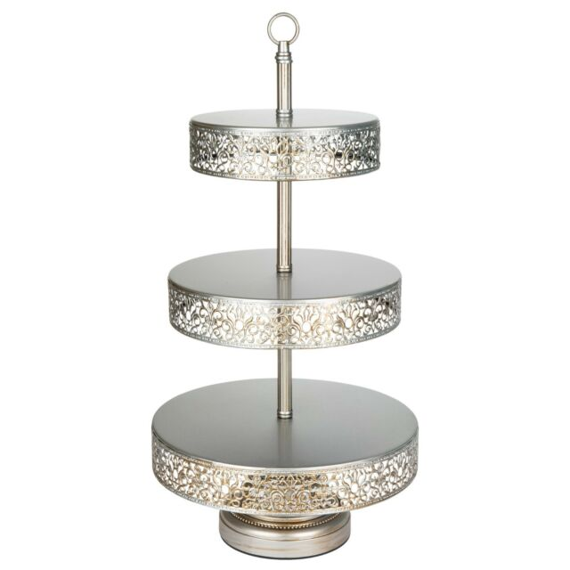 3 Tier Cupcake Stand Cake Dessert Wedding Event Party Display Tower Plate Holde