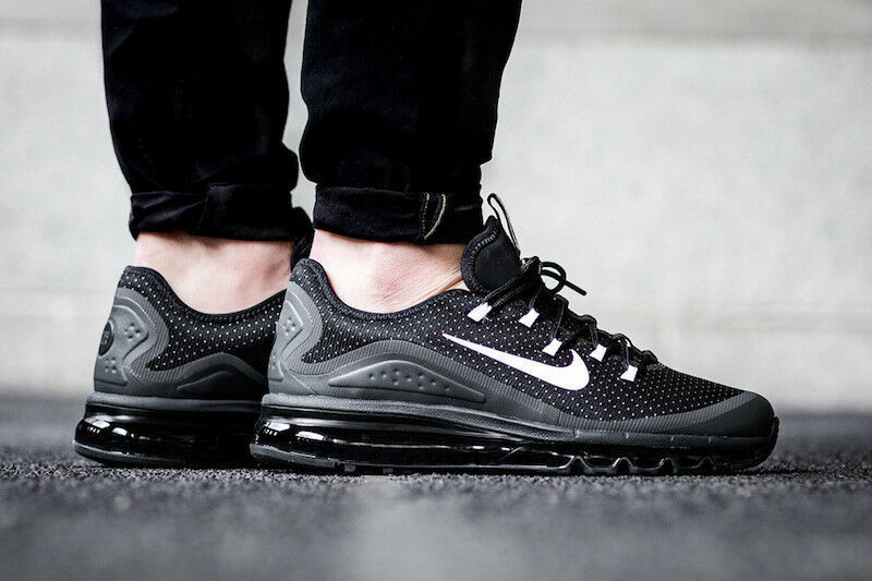 Nike Air Max More 100% Authentic New Men's Trainers Lifestyle shoes 898013 001