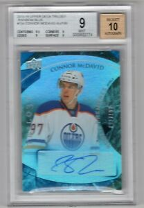15-16-TRILOGY-ROOKIE-RC-PREMIERES-AUTO-199-BLUE-BGS-9-CONNOR-MCDAVID-OILERS