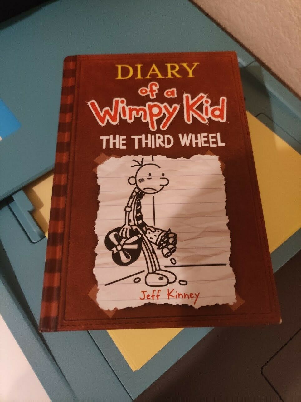 Diary Of A Wimpy Kid Ser The Third Wheel By Jeff Kinney 2012 Hardcover For Sale Online Ebay